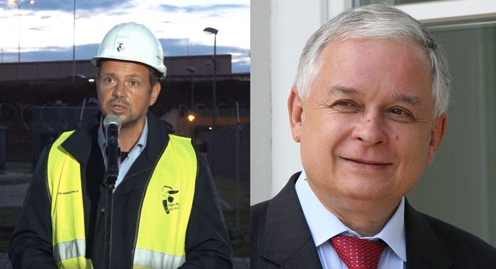 Trzaskowski oskarża o awarię Czajki… Lecha Kaczyńskiego