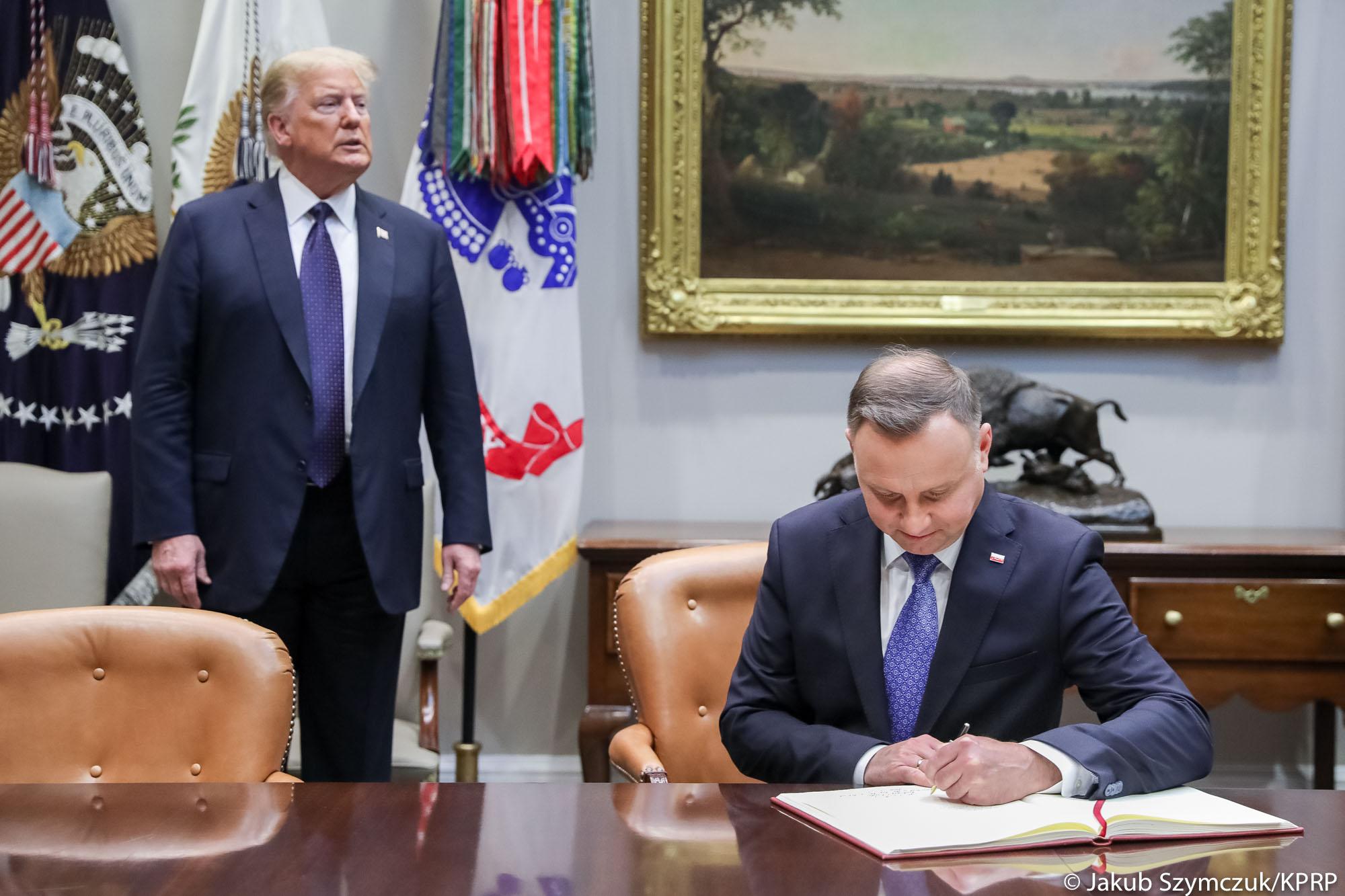 Andrzej Duda w najnowszym spocie Donalda Trumpa (FILM)