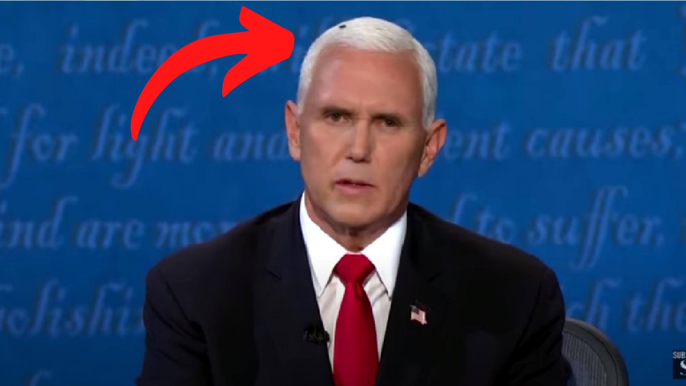 Pence z muchą na głowie. Pechowa debata prezydencka kandydata na wiceprezydenta