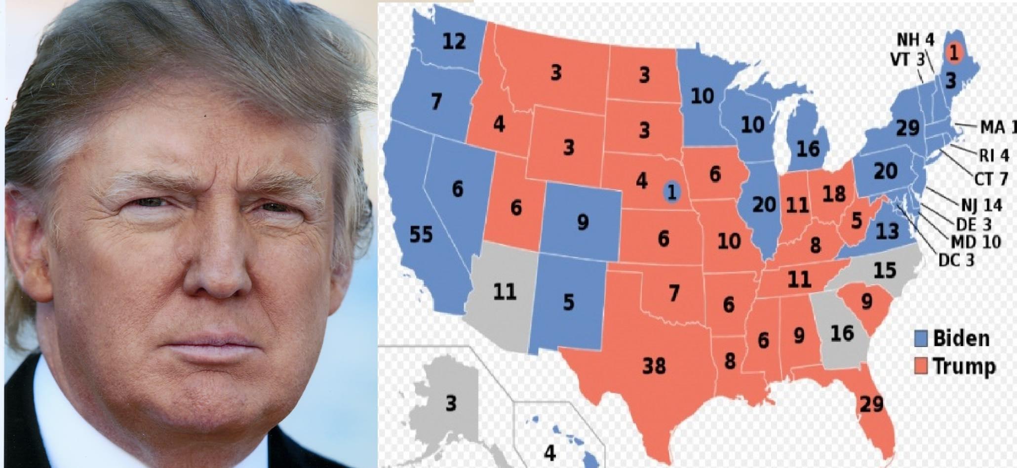 System Dominion skasował 2,7 mln głosów oddanych na Trumpa? Szokujący twitt Trumpa
