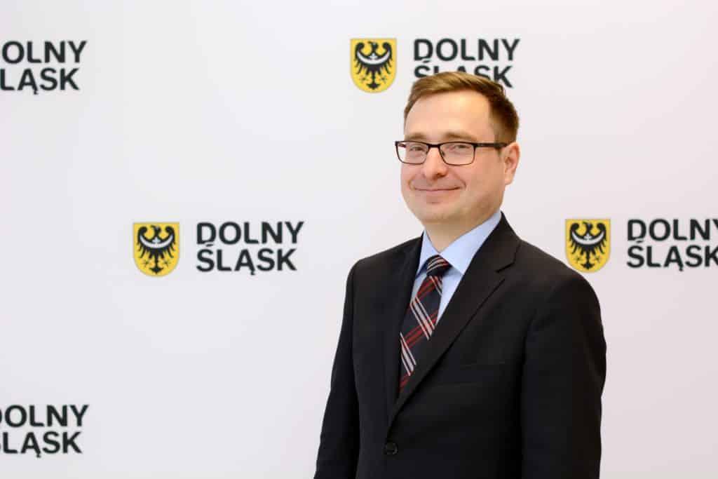 Marszałek Dolnego Śląska Marcin Krzyżanowski