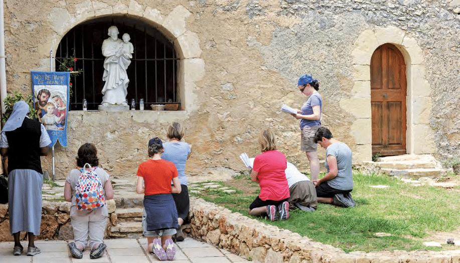 Cotignac – Sanktuarium Świętej Rodziny